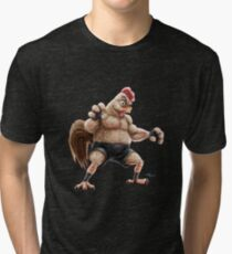 KFC Fighter Tri-blend T-Shirt