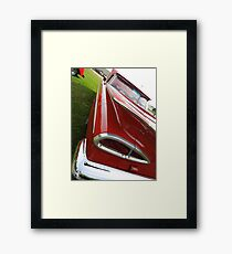Vintage Automobile - Chevy Impala Framed Print