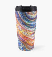 #Deepdreamed planet Travel Mug