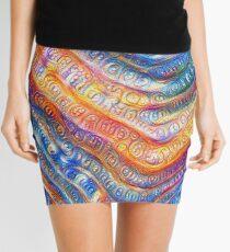 #Deepdreamed planet Mini Skirt
