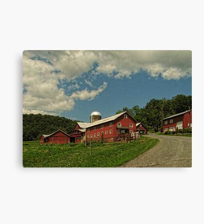 Protected Farmlands Canvas Print