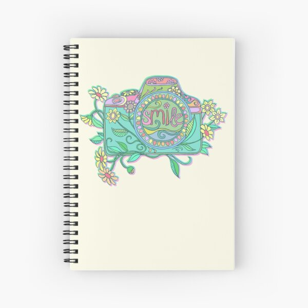 Smile for the Camera Spiral Notebook