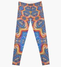 #Deepdreamed planet Leggings