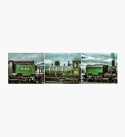 Steam in Wales  Photographic Print