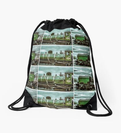 Steam in Wales  Drawstring Bag