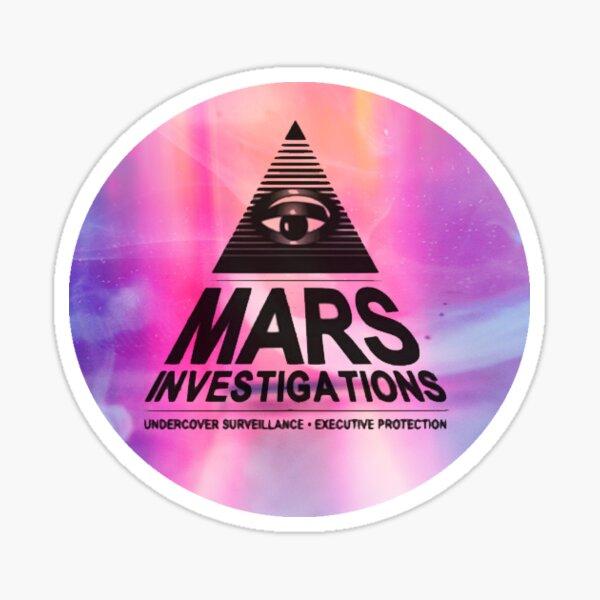 Mars Investigations #Pink Sticker