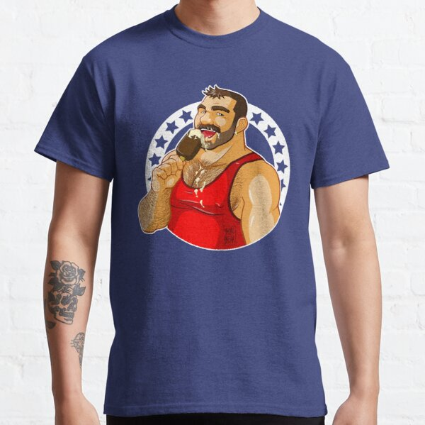 BEN LIKES ICE CREAM - BRUNETTE VERSION Classic T-Shirt