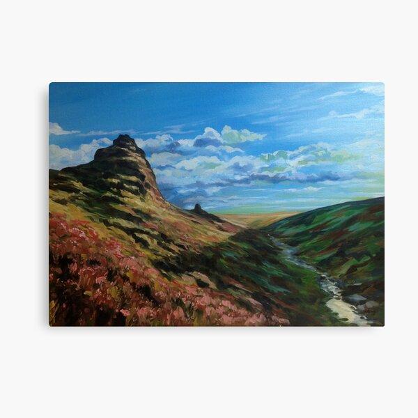 Tavy Cleeve, Dartmoor Canvas Print