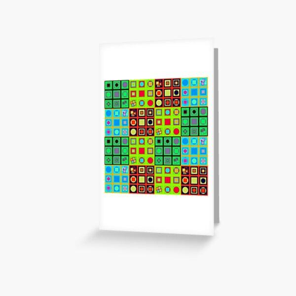 #Abstract #art, Visual art genre #AbstractArt #VisualArt Greeting Card