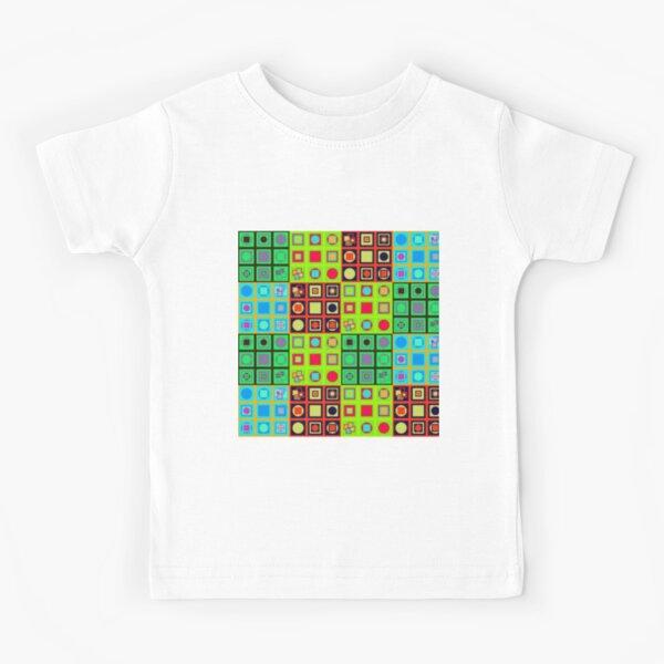 #Abstract #art, Visual art genre #AbstractArt #VisualArt Kids T-Shirt