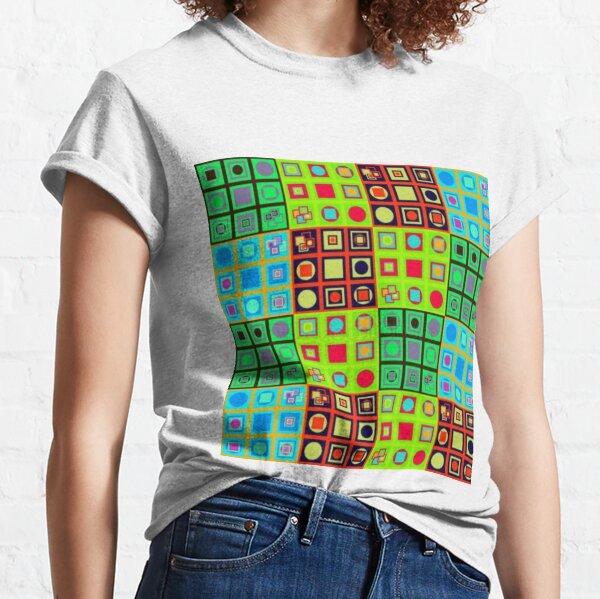 #Abstract #art, Visual art genre #AbstractArt #VisualArt Classic T-Shirt