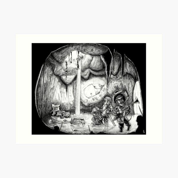 Cave of wonders Art Print