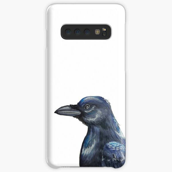 Traditional crow painting Samsung Galaxy Snap Case