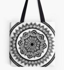 Anspruchsvolles Mandala Tote Bag