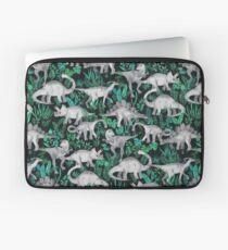 Dinosaurier-Dschungel Laptoptasche
