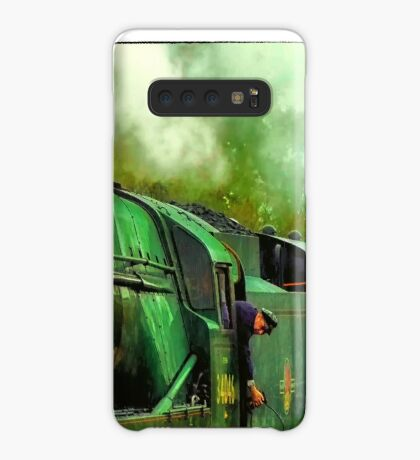 Green Steam again Case/Skin for Samsung Galaxy