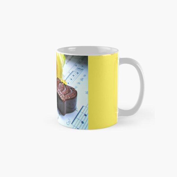 Chocolate, rose and music  Classic Mug
