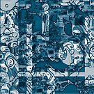 Blue Invasion. by Bo Jones