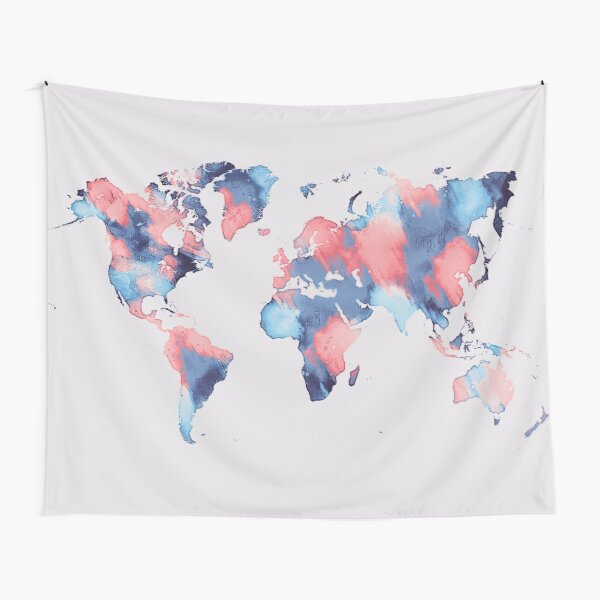 world map 58 #map #worldmap Tapestry