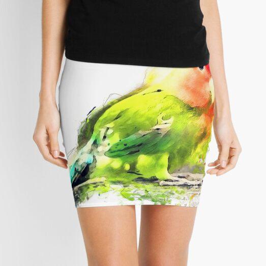 Lovebird Mini Skirt