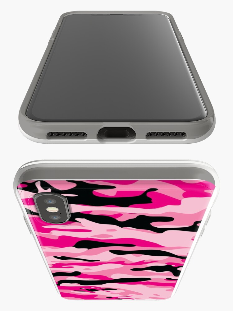 Alternate view of PINK CAMO iPhone Case & Cover