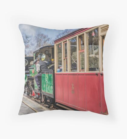 The Snowdonian 2015 by Lizzie Weir  Throw Pillow