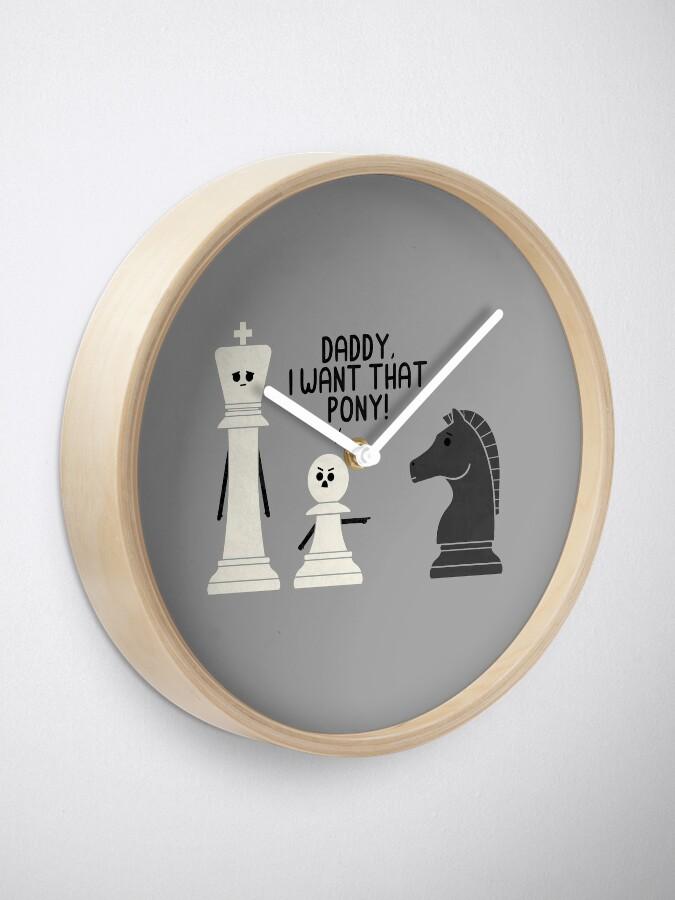 Alternate view of Pony Clock