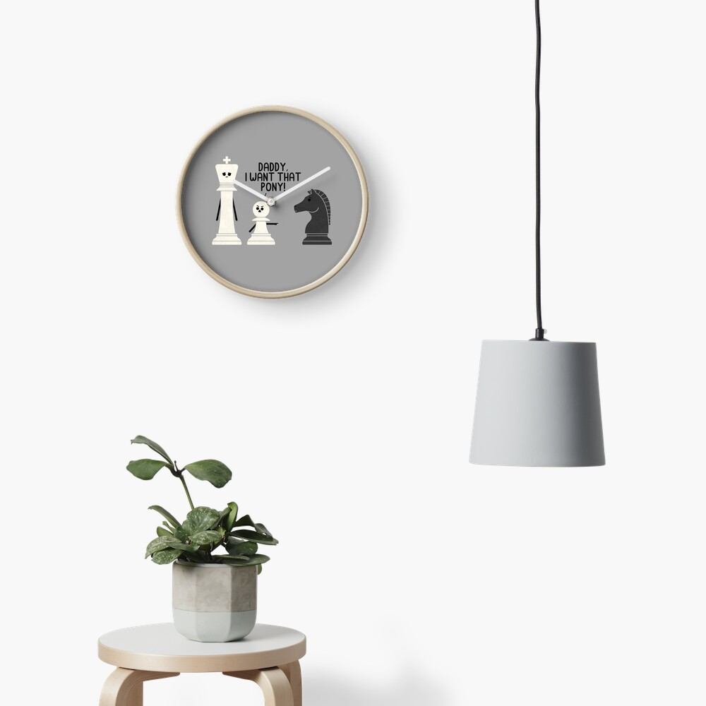 Pony Clock