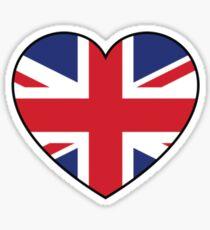 British at Heart....ROUND 2 Sticker