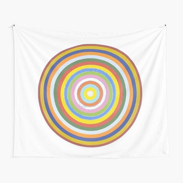 #Circle #Black #Square, #BlackSquare Tapestry