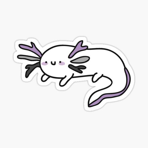 asexualotl Sticker