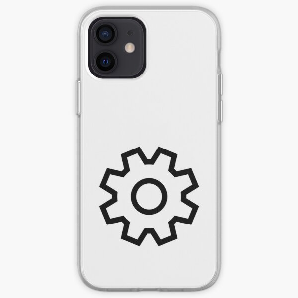 Settings Icon iPhone Soft Case