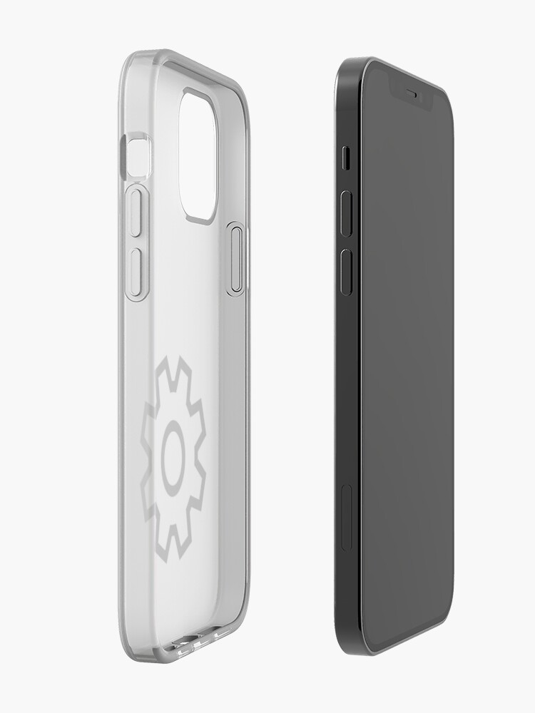 Alternate view of Settings Icon iPhone Case