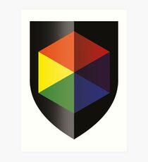 Rob de Reus Logo Art Print