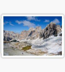 Monte Lagazuoi, Dolomiti, Italy Sticker