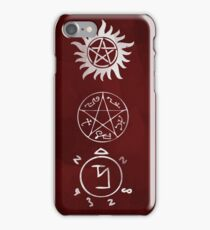Stay protected iPhone Case/Skin