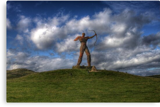 The Wickerman Longbow by Paul  Gibb
