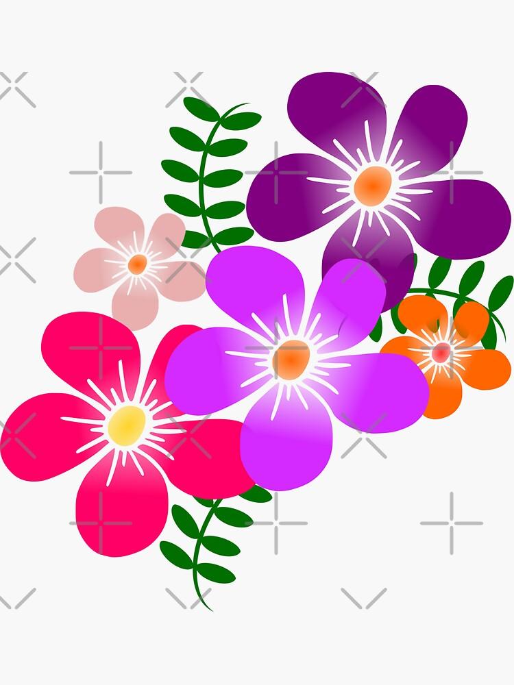 bunte Blüten, Blumen von rhnaturestyles