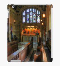 Church of St Nicholas in Castro, Carisbrooke iPad Case/Skin