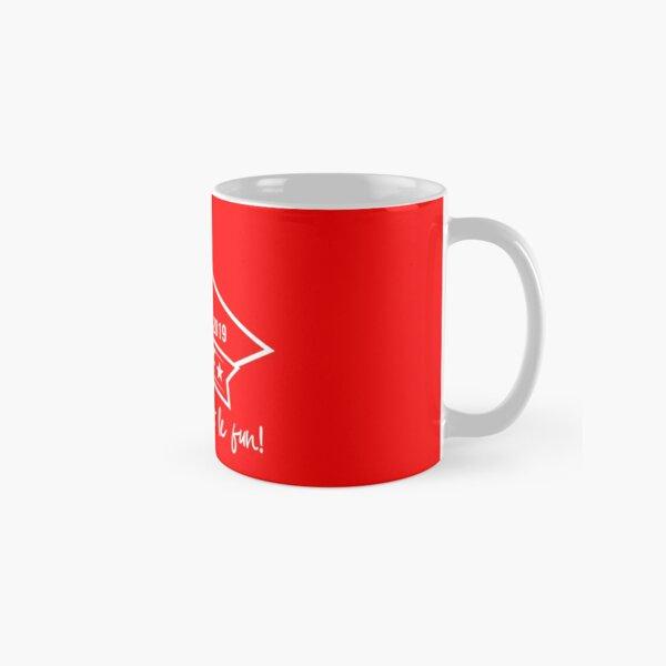 CJPF White Logo Classic Mug