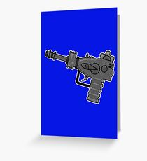 X-Raygun Greeting Card
