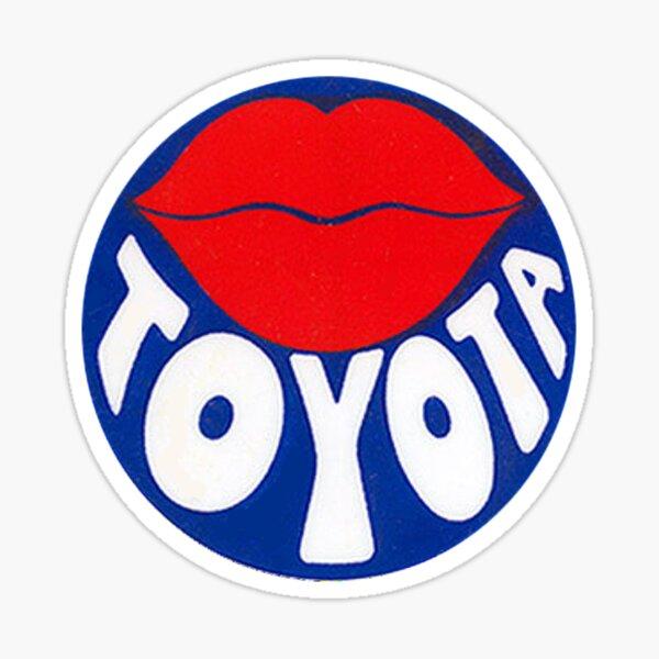 1979 Reproduction Toyota Dealer Sticker Sticker