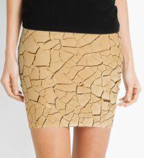 Crackle Mini Skirt