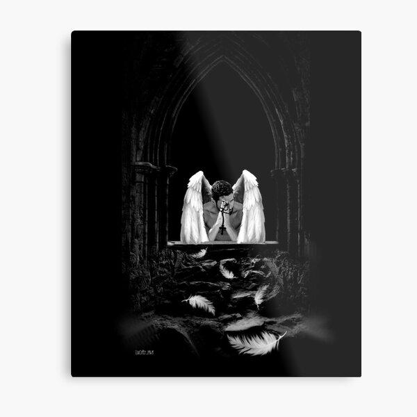 Praying Lucifer Metal Print