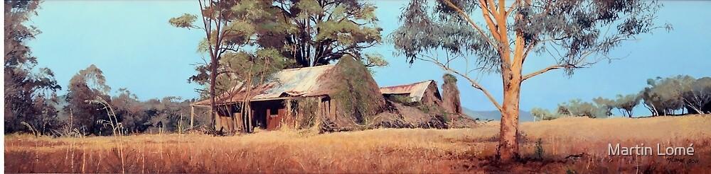 Overgrown Ruins of Tintinhull Inn, Tintinhull, NSW, Australia. by Martin Lomé