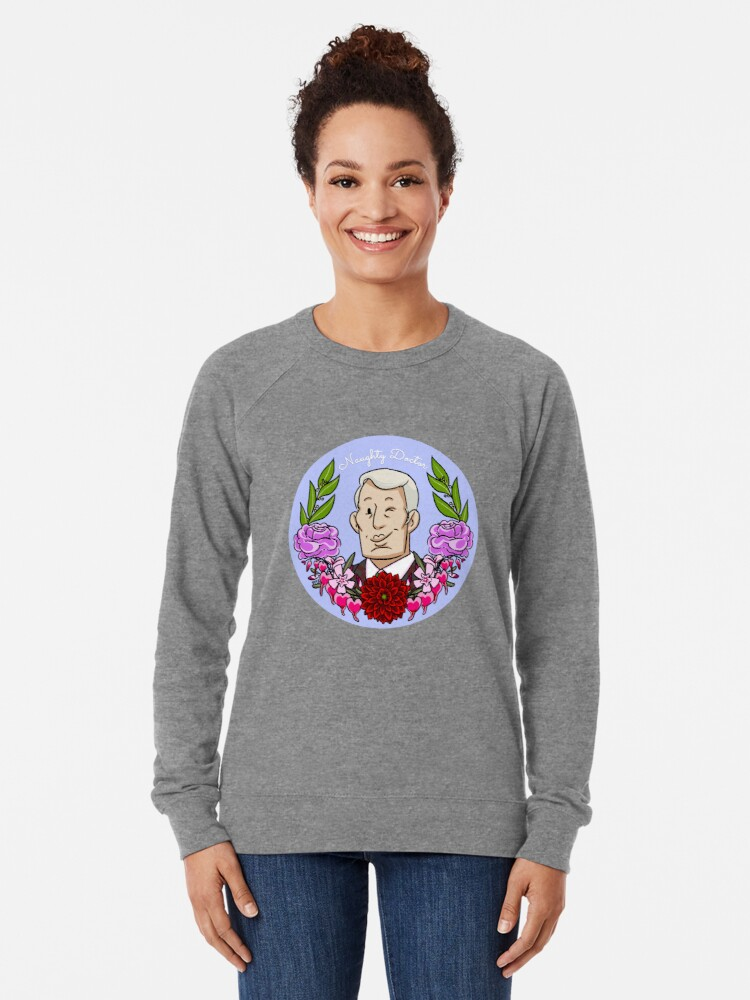Alternate view of Naughty Doctor (Hannibal Lecter) Lightweight Sweatshirt