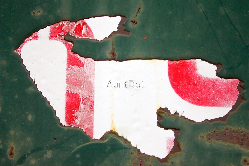 My Red and White Puppy by AuntDot