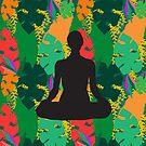 « yoga pose sukhasana » par bintadesigns