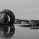 Tunisian Tire Art by Noora Elkoussy