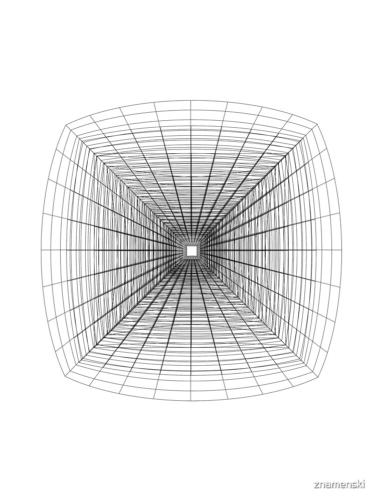 #Perspective #Drawing #Tunnel by znamenski